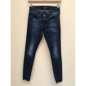 Lucky Brand Charlie Skinny Low Rise Jeans 24